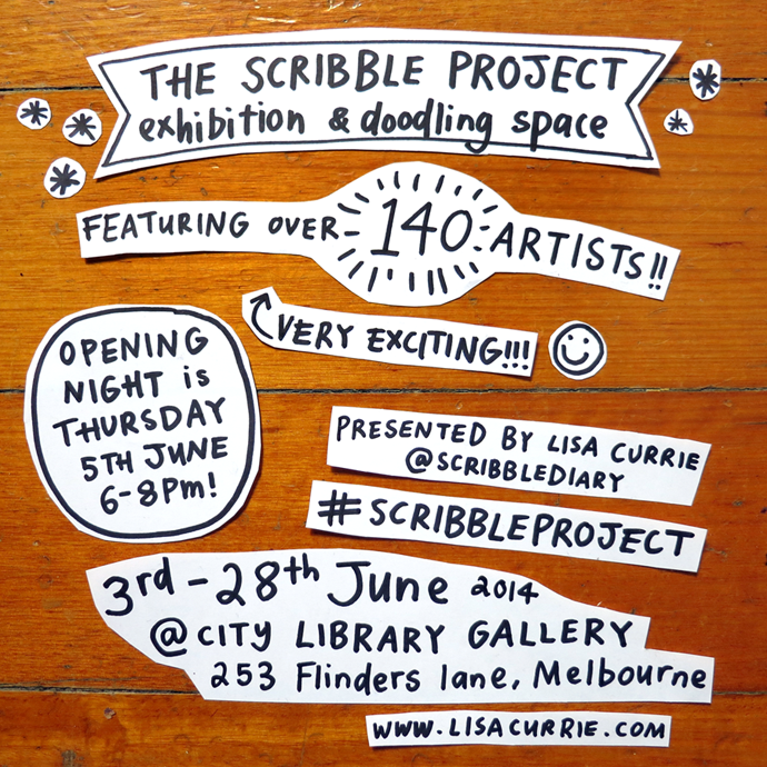 Scribble Project flyer 690-1
